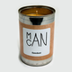 MAN CANS Sawdust Candle