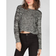 FULL TILT Multi Stitch Womens Crop Sweater