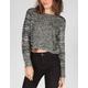 FULL TILT Multi Stitch Womens Crop Sweater