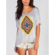 HIP Tribal Print Womens Hi Low Tunic