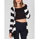 FULL TILT Chevron Stripe Womens Wrap Sweater