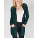 FULL TILT Womens Essential Slub Cardigan
