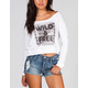 FULL TILT Wild & Free Womens Crop Sweatshirt