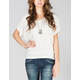 FULL TILT Womens Batwing Top