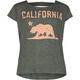 FULL TILT Cali Bear Girls Bar Back Tee