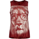 FULL TILT Glasses Lion Girls Hi Low Tee