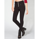 ALMOST FAMOUS Womens Highwaisted Skinny Pants