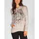 FULL TILT Live Free Womens Hi Low Hoodie