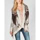 WILD HEART Ethnic Plush Womens Cardigan