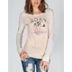 ROXY Activated Womens Raglan Tee
