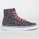 VANS Heart Leopard Authentic Hi Womens Shoes
