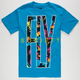 FLY SOCIETY Fly Away Paradise Mens T-Shirt