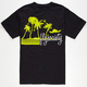 FLY SOCIETY Palm Beach Mens T-Shirt