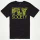 FLY SOCIETY Snakeskin Fly Mens T-Shirt