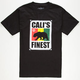 CALI'S FINEST Bear Crawl Mens T-Shirt