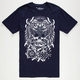 SECRET ARTIST Battle Owl Mens T-Shirt