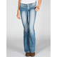 ALMOST FAMOUS 4 Button Womens Flare Jeans