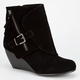 BLOWFISH Bilocate Womens Wedge Booties