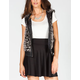 YMI Womens Faux Fur Vest