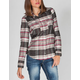 FULL TILT Lattice Yoke Womens Shirt