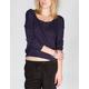 FULL TILT Womens Cross Back Sweater