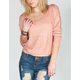 FULL TILT Womens Cross Back Sweater