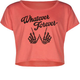 FULL TILT Whatever Forever Girls Crop Tee