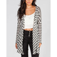 FULL TILT Striped Womens Hachi Knit Top
