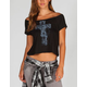 FULL TILT Cross Womens Crop Tee