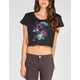 FULL TILT Bring On The Night Womens Crop Tee