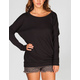 FULL TILT Slash Back Womens Sweatshirt