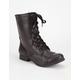 SODA Relax Combat Womens Boots