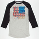 IRON FIST Campaign Trail Mens Baseball Tee