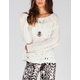 FULL TILT Holey Womens Sweater