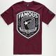 FAMOUS STARS & STRAPS Beretta Mens T-Shirt