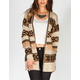 FULL TILT Tribal Womens Heavy Stitch Cardigan