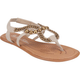 DE BLOSSOM Zona Studded Womens Sandals
