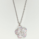 FULL TILT Rhinestone Flower Necklace