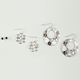 FULL TILT Mixed Earring Trio