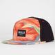 SKULLS Hawaiian Suede Mens Snapback Hat