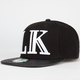 LAST KINGS LK Roman Mens Snapback Hat