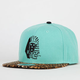 LAST KINGS Leopard Mens Strapback Hat