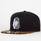 LAST KINGS Leopard Mens Strapback Hat