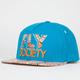 FLY SOCIETY Snakeskin Fly Mens Snapback Hat