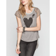 HUNTINGBIRD Heart Top Womens Tee