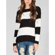 ALMOST FAMOUS Popcorn Stripe Womens Sweater