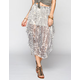 BILLABONG Designer's Closet Starting Out Hi Low Maxi Skirt