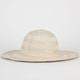 Fine Weave Glitter Floppy Hat