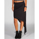 LILY WHITE Asymmetrical Hi Low Skirt