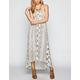 BILLABONG Designer's Closet Honey Sky Hi Low Maxi Dress